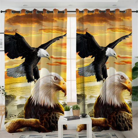 Image of Eagle 2 Panel Curtains