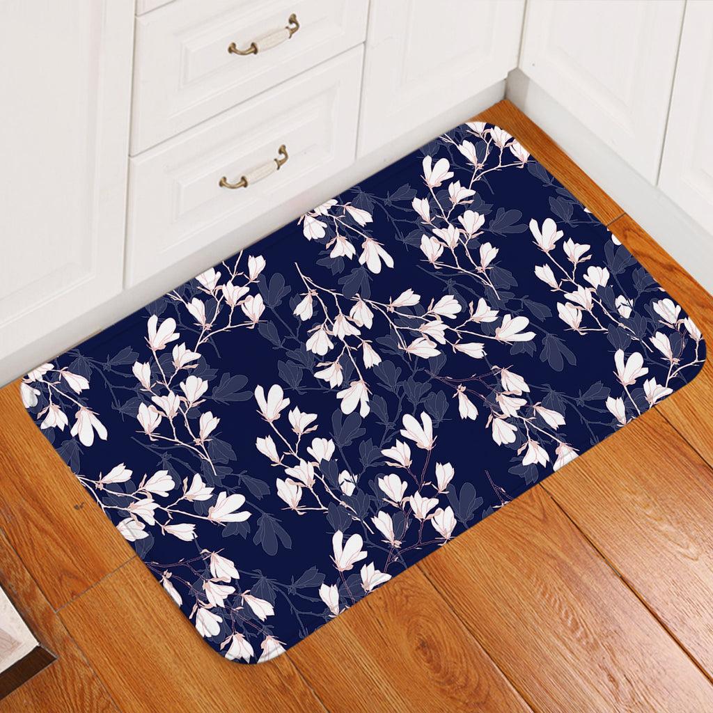 White Blossom SW2241 Door Mat