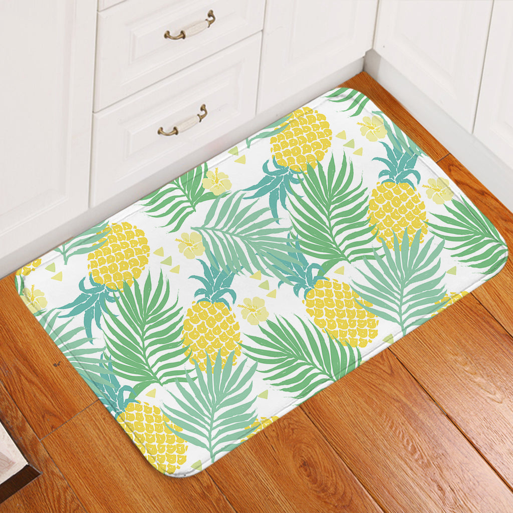 Pineapple Patterns Door Mat