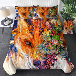 Fox Eyes by Archan Nair Bedding Set - Beddingify