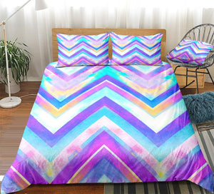 Geometric Waves Bedding Set - Beddingify