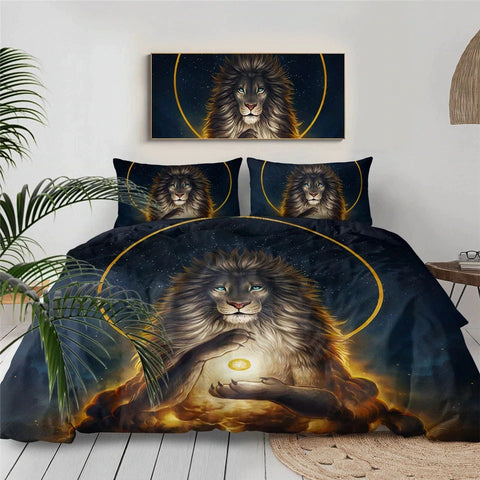 Image of Lion The Soul Keeper By JoJoesArt Bedding Set