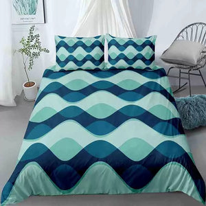 Wave Patterns Bedding Set - Beddingify