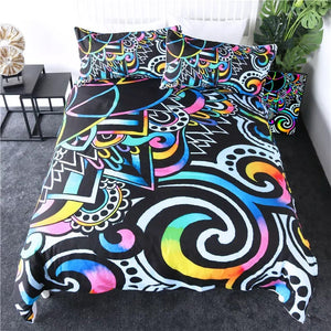 Chaos By Brizbazaar Bedding Set - Beddingify