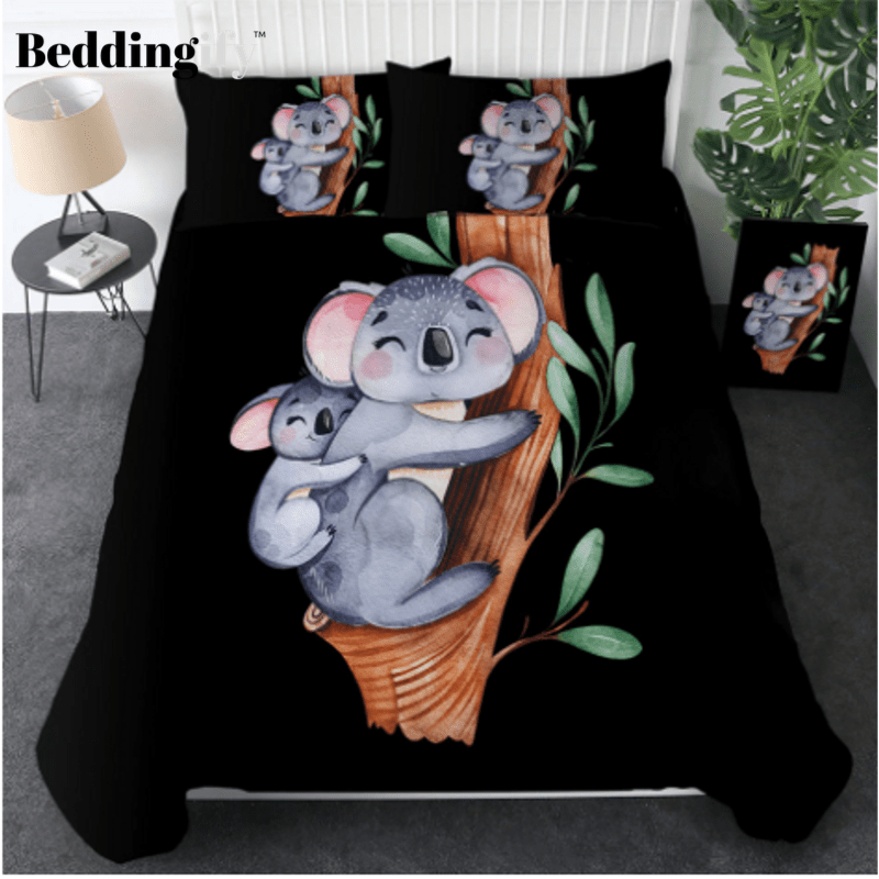 Koala Family Animal Kids Bedding Set - Beddingify