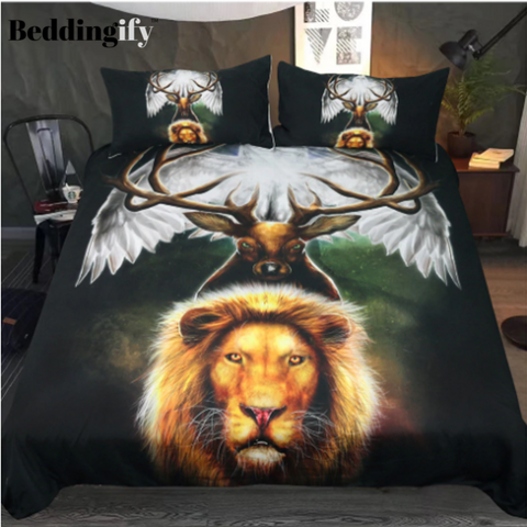 Image of Leaders of the Earth by KhaliaArt Bedding Set - Beddingify