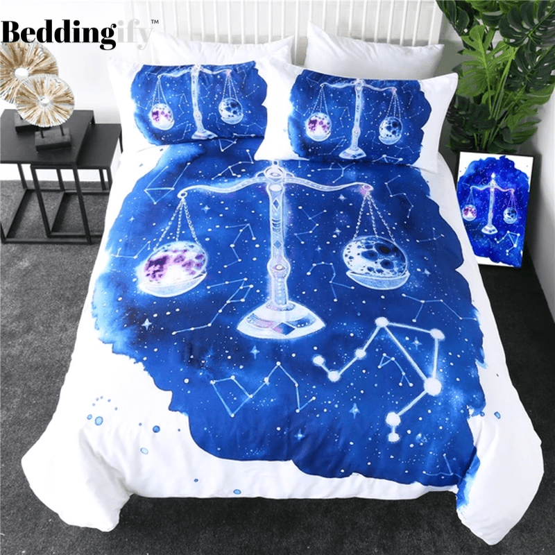 Libra Zodiac Bedding Set - Beddingify
