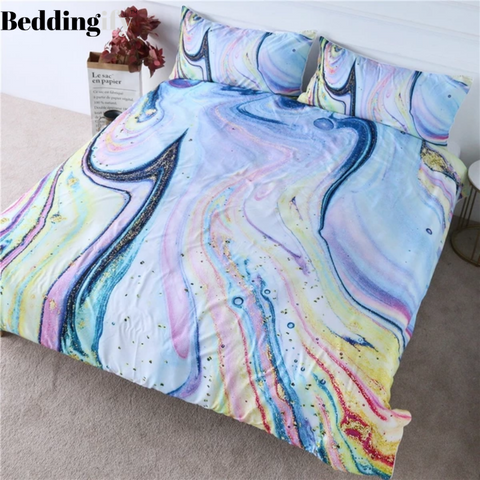 Marble Bedding Set - Beddingify