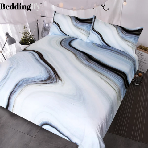 Nature Rock Marble Bedding Set - Beddingify