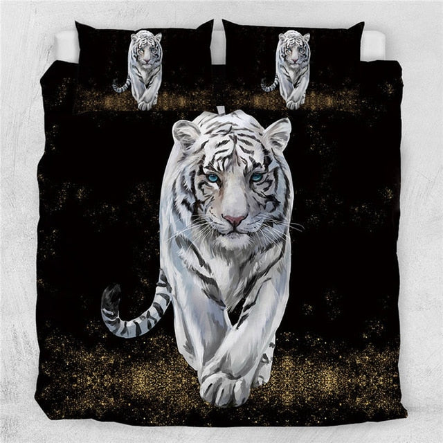 3D Tiger Baby Bedding Set - Beddingify