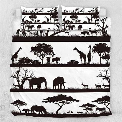 Image of African Animals Bedding Set