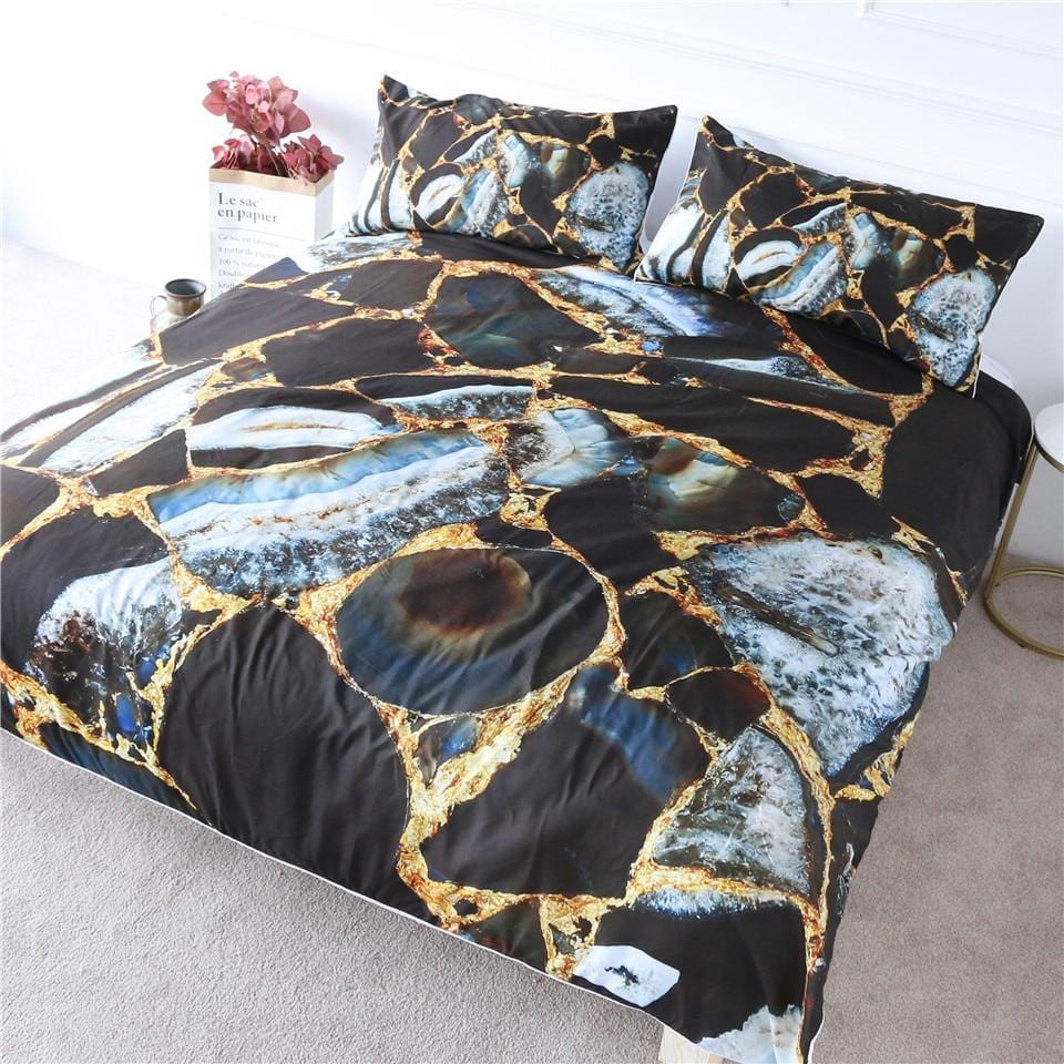 Rock Marble Bedding Set - Beddingify