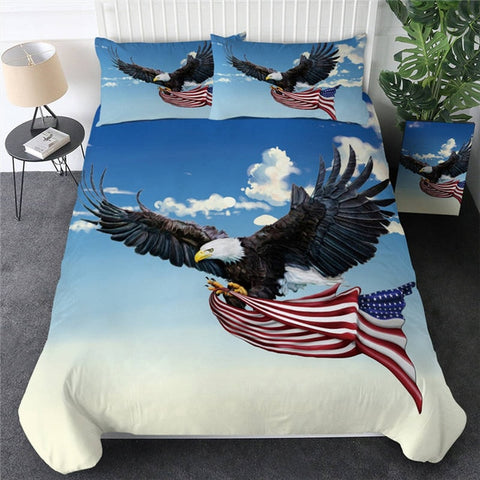 Eagle Dreamcatcher Bedding Set - Beddingify