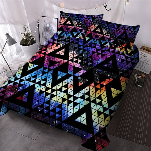 Colorful Geometric Bedding Set
