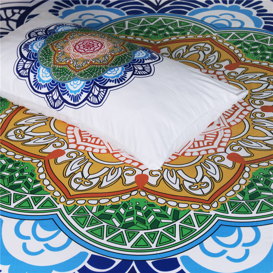 Flower Mandala Bedding Set - Beddingify