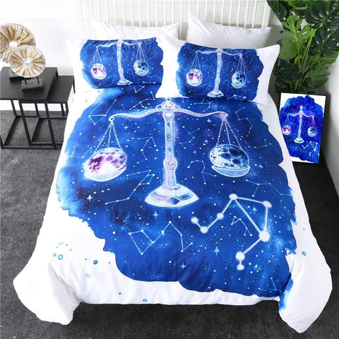 Image of Libra Zodiac Bedding Set - Beddingify
