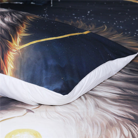 Lion The Soul Keeper Bedding Set - Beddingify