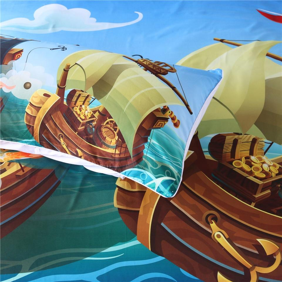 Pirate Boat Bedding Set - Beddingify