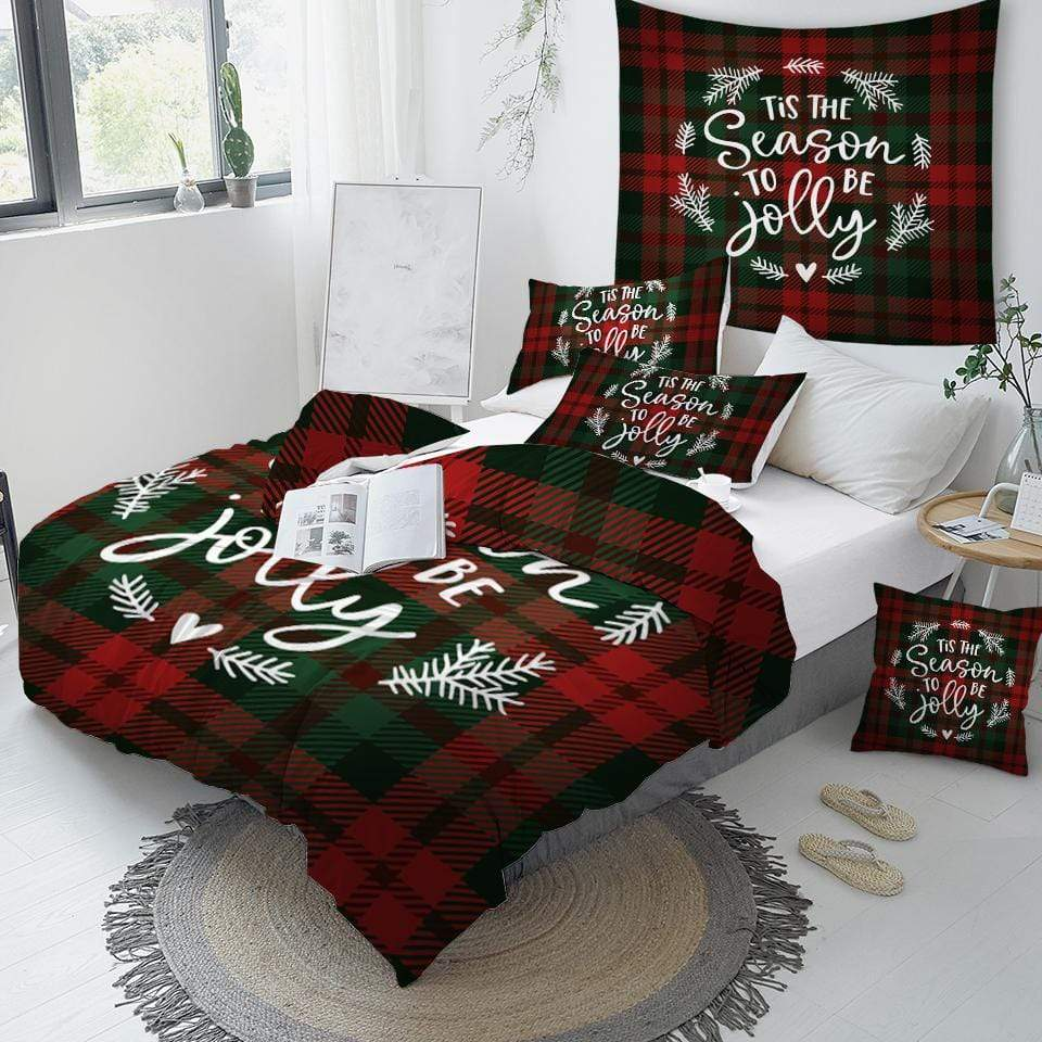 Scottish Pattern  Comforter Set - Beddingify
