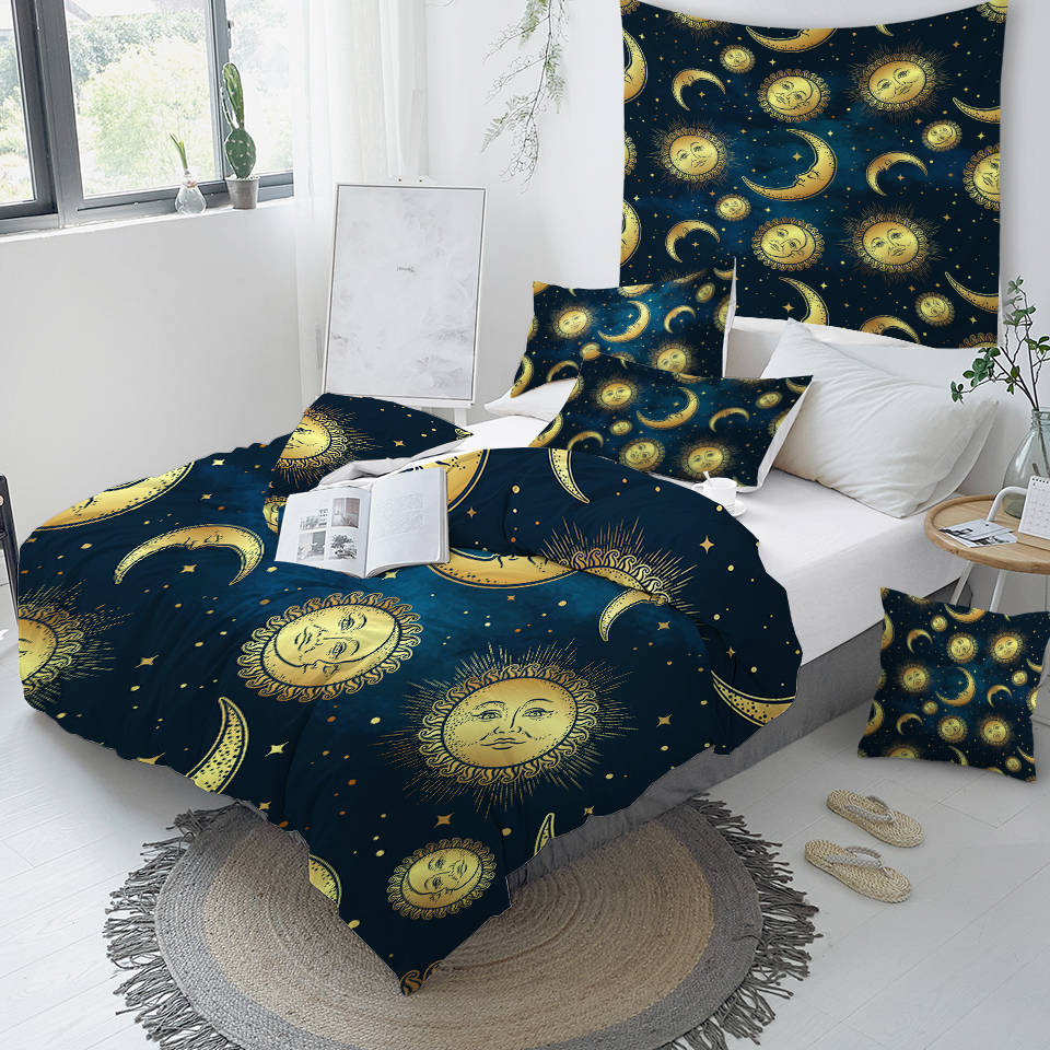 Moon and Sun Bedding Set - Beddingify
