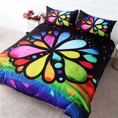 Image of 7 Chakra Flower Bedding Set - Beddingify