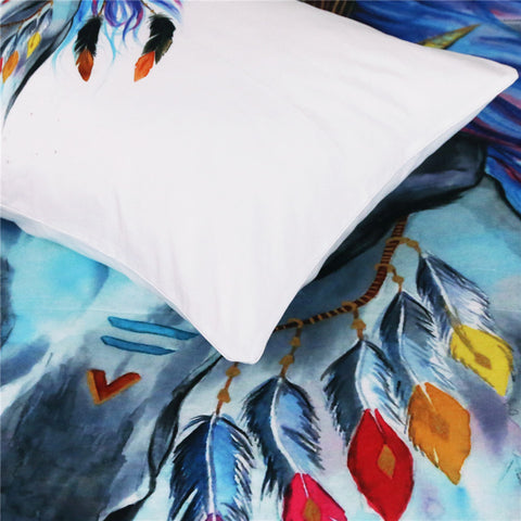 Tribal Horse Art Bedding Set - Beddingify