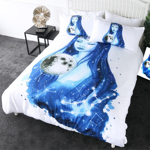 Image of Virgo Planet Art Comforter Set - Beddingify