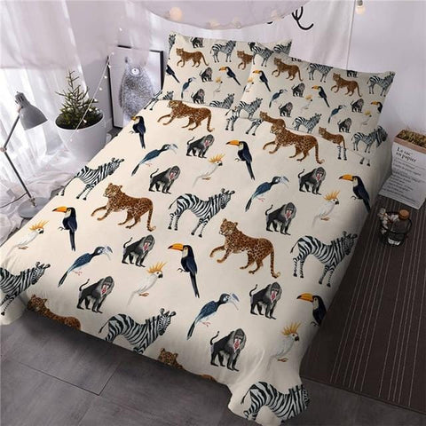 Image of Wild Animals Bedding Set - Beddingify