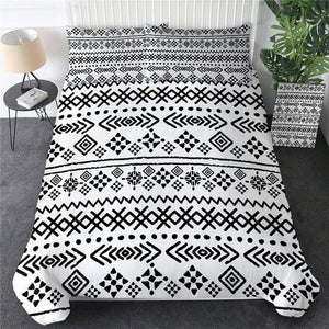 Geometric Ethnic Aztec Bedding Set - Beddingify