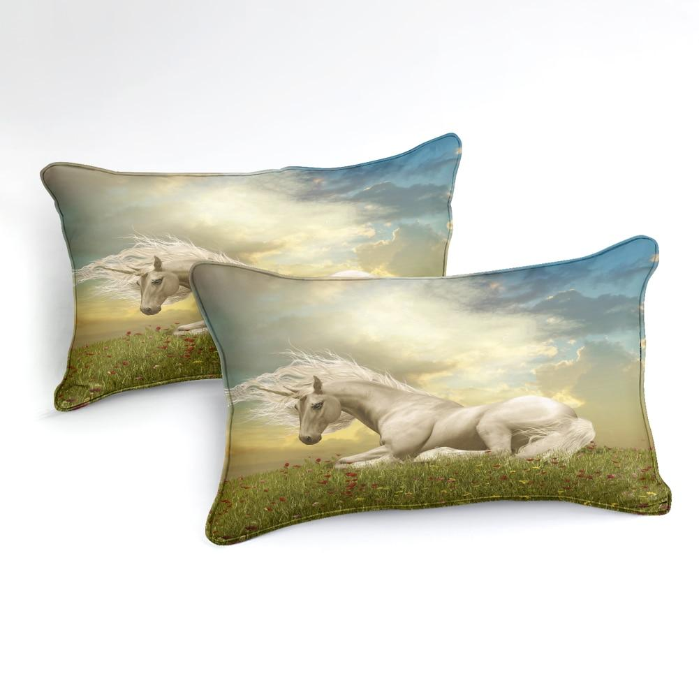 Grassland Sky Unicorn Bedding Sets - Beddingify