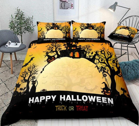 Happy Halloween  Bedding Set - Beddingify