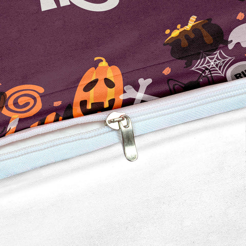 Happy Halloween Trick Or Treat Bedding Set - Beddingify