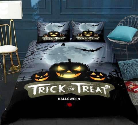 Halloween Themed Bedding Set - Beddingify