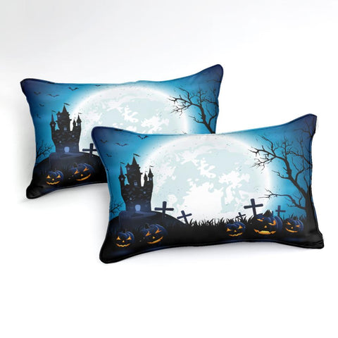 Halloween Dark Castle Bedding Set - Beddingify