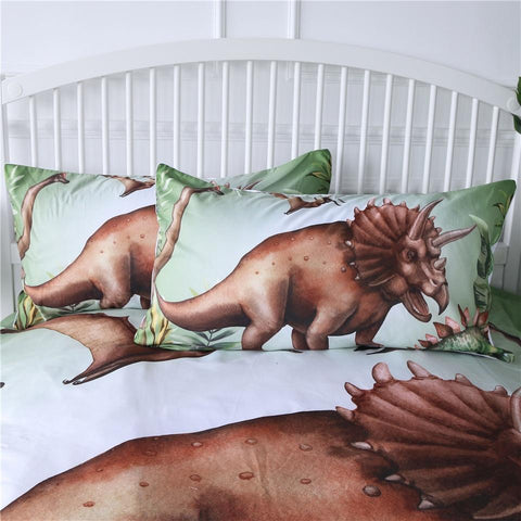 Image of Jurassic Dinosaur Park Bedding Set - Beddingify