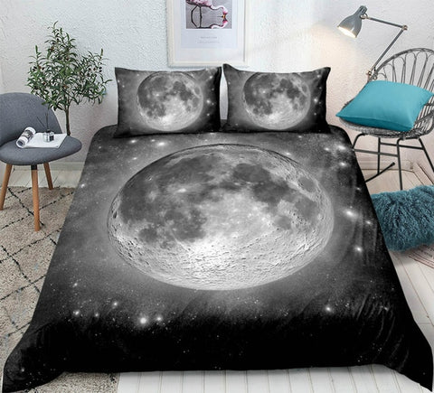 Moon Universe Bedding Set - Beddingify