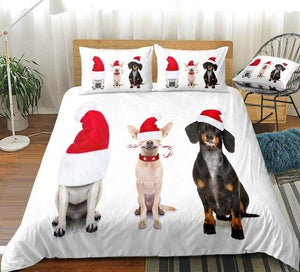 Christmas Dog Bedding Set - Beddingify