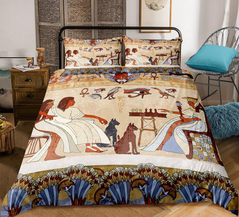 Image of Egyptian Style Bedding Set - Beddingify