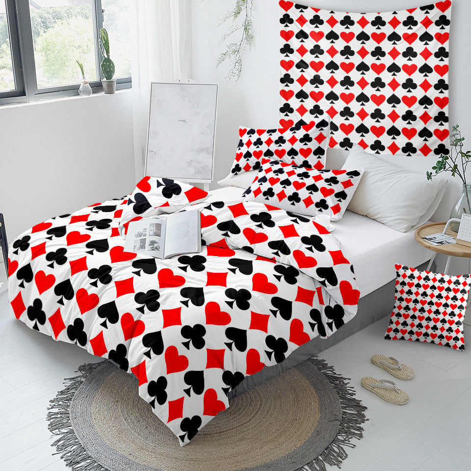 Playing Card Bedding Set - Beddingify