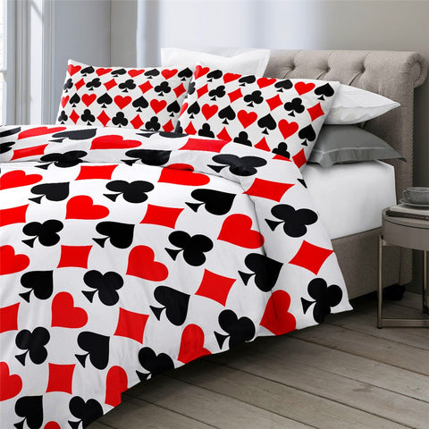 Image of Playing Card Bedding Set - Beddingify