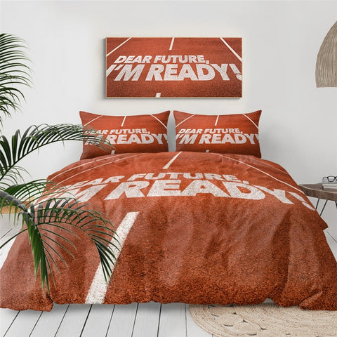 Running Track Bedding Set - Beddingify