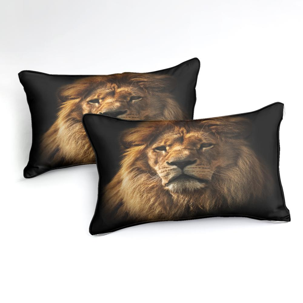 3D Africa Lion Bedding Set - Beddingify