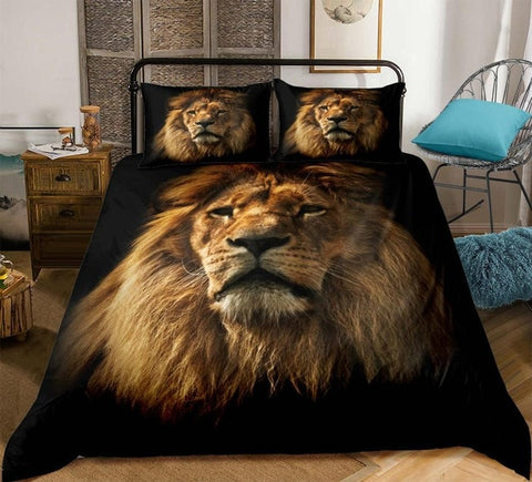 Image of 3D Africa Lion Bedding Set - Beddingify