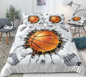 Ball Cracked Bricks Bedding Set - Beddingify