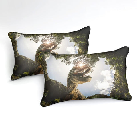 Image of 3D Dinosaur Bedding Set - Beddingify