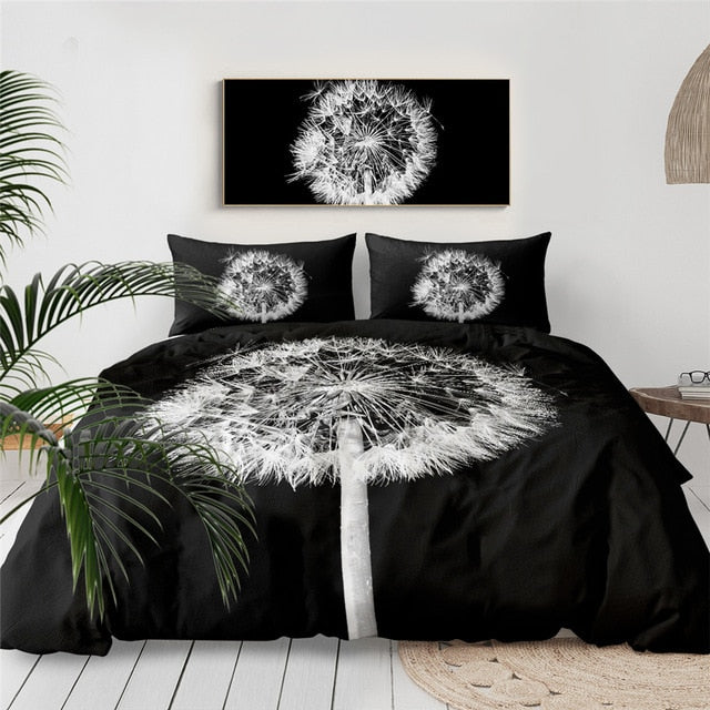 Dandelion Bedding Set Queen - Beddingify