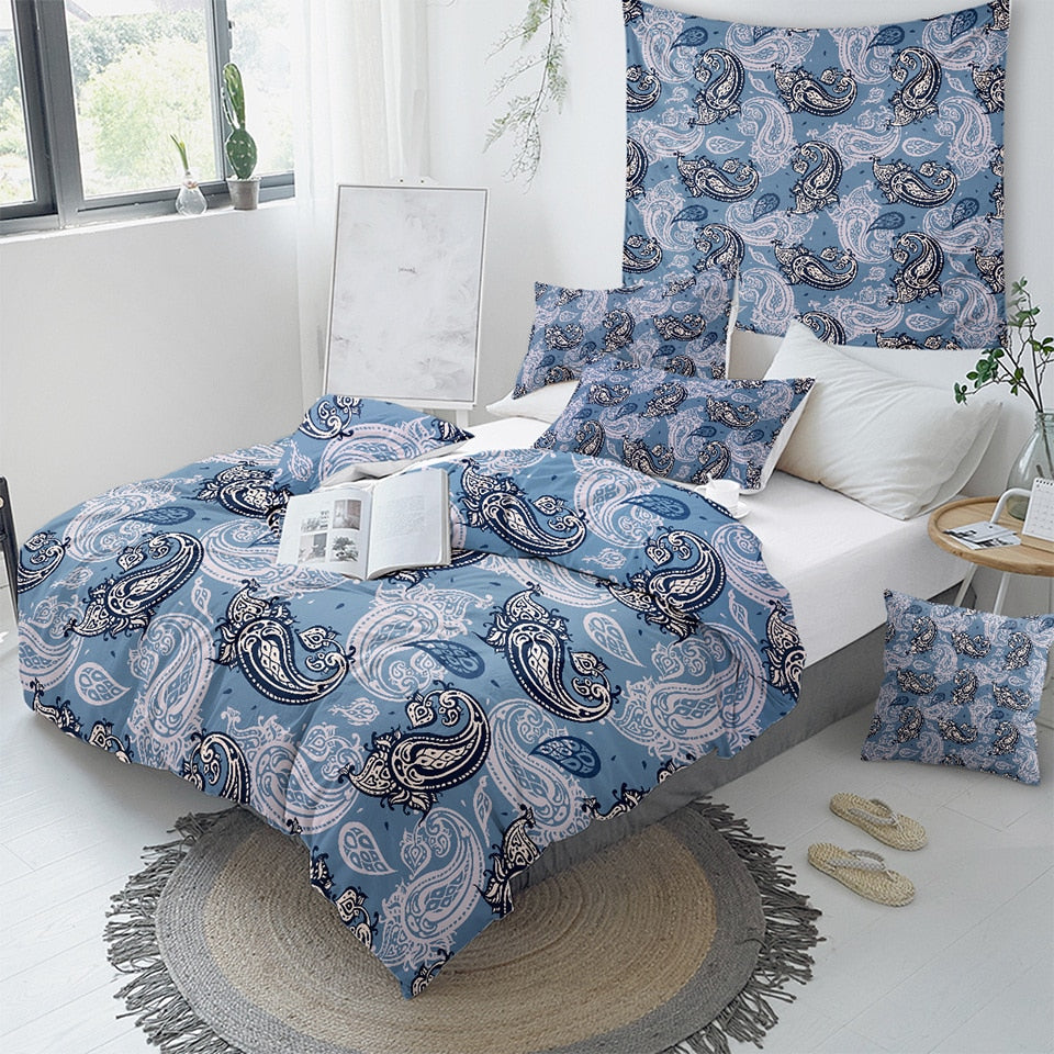 Elegant Paisley Bedding Set - Beddingify
