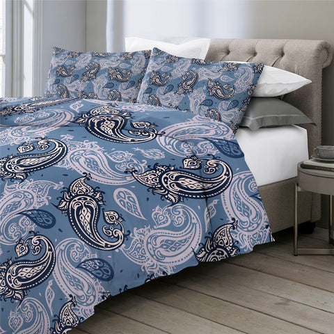 Image of Elegant Paisley Bedding Set - Beddingify