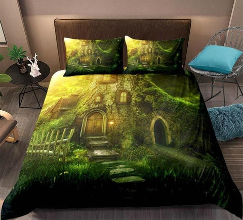 Image of 3D Forest Dreamland Bedding Set - Beddingify
