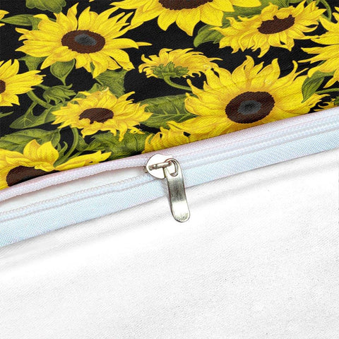 Image of Retro Sunflower Bedding Set - Beddingify